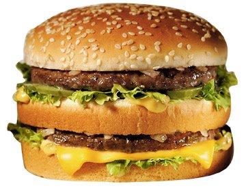 Hoeveel calorieen zitten er in fastfood?