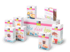 d for diet box