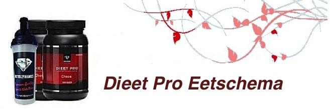 dieetpro-eetschema