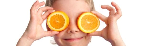 kind sinaasappel