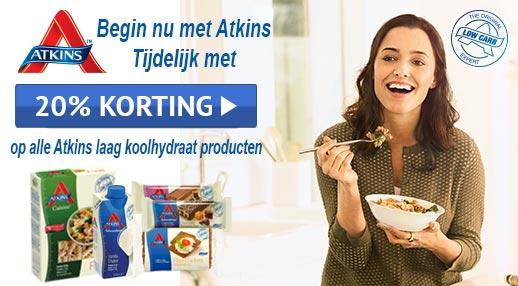 atkins-korting
