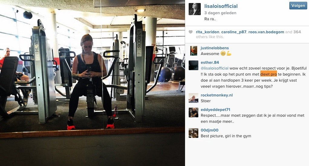 Lisa-Lois-dieet-instagram2