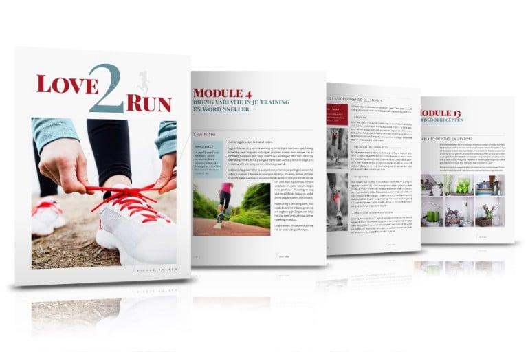Love2Run Het E-book over Hardlopen