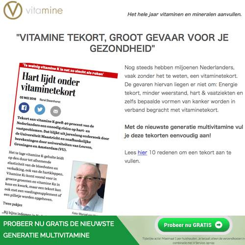 v vitamine artikel