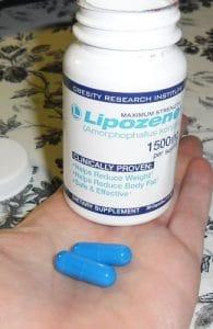Lipozene capsules