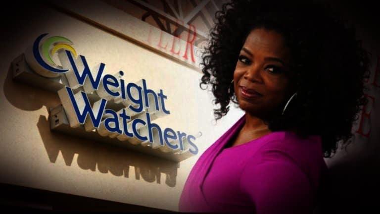 Oprah Winfrey en WightWatchers