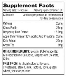 raspberry ketone ingredienten