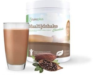 shakeplus chocolade