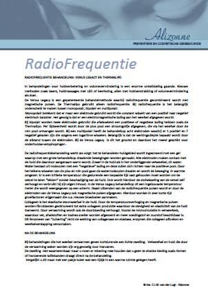Alizonne_Radiofrequentietherapie