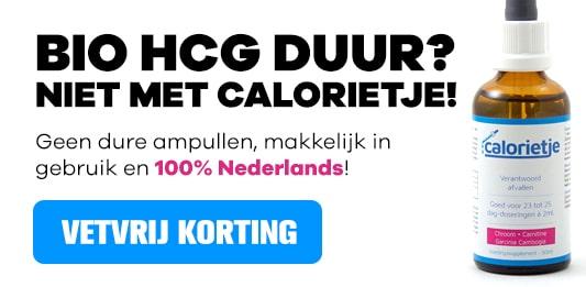 bio hcg calorietje korting