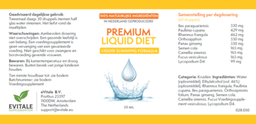 Liquid Diet duur